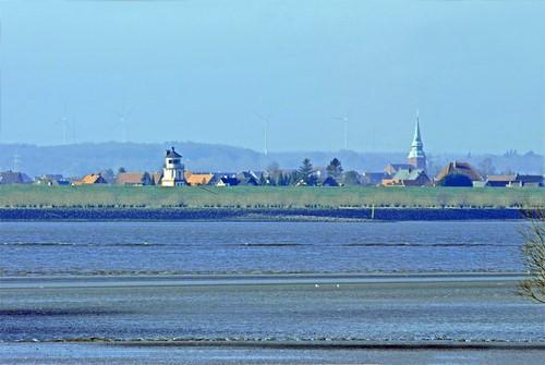 Blick über die Elbe Foto von Juliane Herrmann