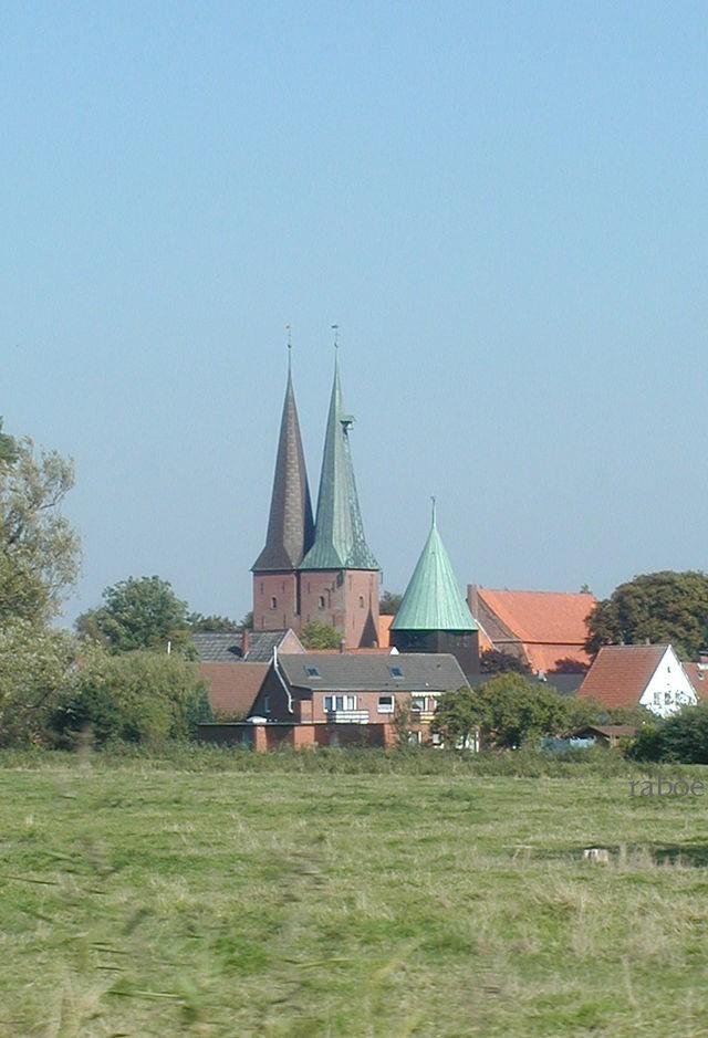 Die Kirchtürme in Altenbruch