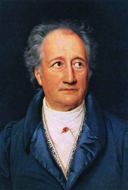 Johann Wolfgang von Goethe, 28 August 1749 – 22 March 1832.