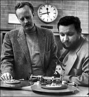 Olaf Hudtwalcker (izquierda) y Horst Lippmann (derecha), los pioneros del festival alemán de jazz.