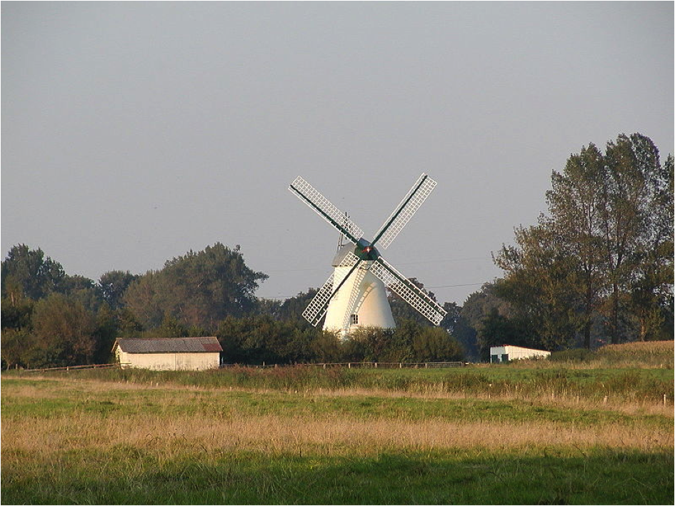 The old mill in Lüdingworth